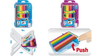 Color'peps kleurpotlood - in    onbreekbare platte doos x 12 +