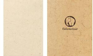 Heyda olifant huid, 500 x 700,  190 g / m², gemzen