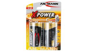 Ansmann D Alkaline Batterij - 2 stuks