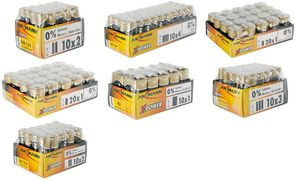 ANSMANN Alkaline battery'X-Power', AAA, 20 beeldscherm