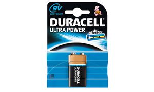 Duracell Ultra Power Duralock 9 Volt Mn1604