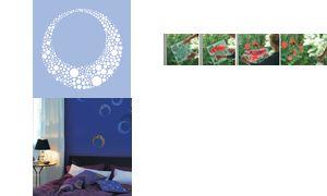 Marabu ontwerp template'Cosmos  ', 330 x 330 mm