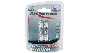 Ansmann AAA Batterijen - 2      stuks