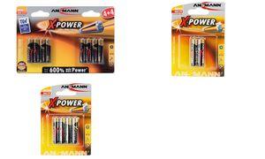 Ansmann AAA Alkaline Batterijen - 4 stuks