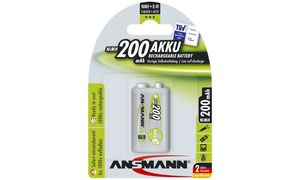 Ansmann 200mAh                  maxE