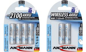 Ansmann AA Oplaadbare Batterijen- 2 stuks - 2100 mAh