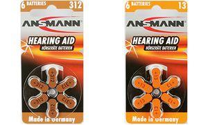 1x6 Ansmann Zinc-Air 10 (PR     70)