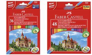 Kleurpotlood Faber-Castell      Castle zeskantig karton etui