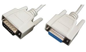 Shiverpeaks BASIC S 15 polige   Sub-D-kabel, connector -