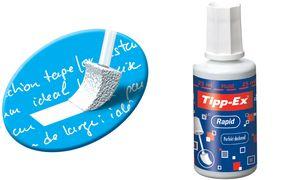 Tipp ex Rapid 20 ml 10          stuks