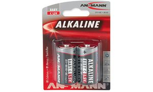ANSMANN Alkaline battery'RED ', baby C LR14, 2er Blister