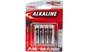 Ansmann AAA Batterijen - 4      stuks