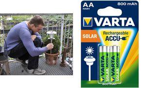 VARTA NiMH battery'Rechargeable Accu Solar ', Mignon (AA / HR06)
