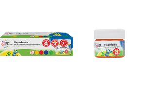 mara door Marabu Finger Paint,  100 ml, set van 4