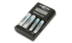 Ansmann batterijlader voor AA / AAA batterijen