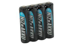ANSMANN nikkel-zink batterij,   AAA, 550 mAh, 4-Shrink