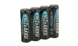 ANSMANN nikkel-zink batterij,   AA, 1500 mAh, 4-Shrink
