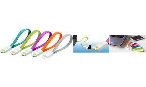 LogiLink USB 2.0-kabel met      magnetische, grijs