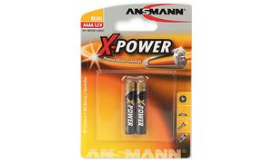 ANSMANN Alkaline battery'X-POWER'AAAA, 2er Blister