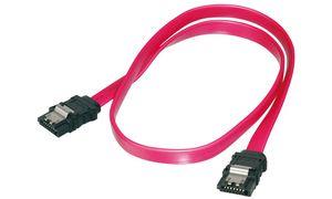 DIGITUS Serial ATA kabel met    veiligheids vergrendeling