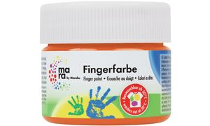 mara door Marabu Finger Paint,  100 ml, oranje