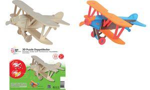 mara door Marabu 3D             Puzzle'Flugzeug Doppeldecker '