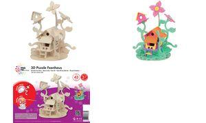 mara door Marabu 3D             Puzzle'Feenhaus '