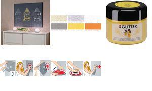 Marabu Acrylverf SCHITTERT Kleurje dromen, saffier