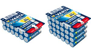 VARTA alkaline battery'High     energie 'BIG BOX, Mignon (AA)