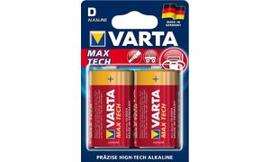 VARTA alkaline battery'Max tech ', Mono (D / LR20)