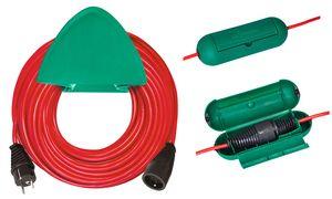 brennenstuhl Rallonge,          plastique, rouge, 40 m