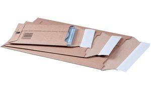 smartboxpro mailer, uit bruin   golfkarton, B4