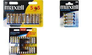 Maxell Alkaline batterijen, AA, 4er Blister