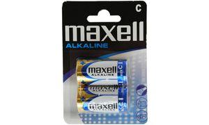Maxell Alkaline batterij, baby  C, 2er Blister