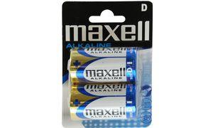 Maxell Alkaline batterijen, MonoD, 2er Blister