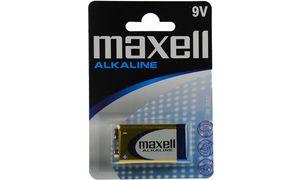 Maxell Alkaline batterij 9V     E-Block