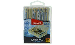 Maxell AAA Batterijen - 24      stuks