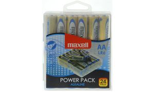 Maxell Alkaline battery'Power   Pack ', AA, 24er Box