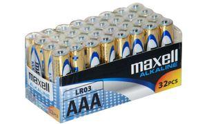 Maxell AAA Batterijen - 32      stuks
