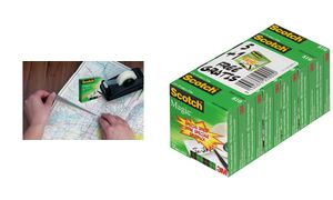 3M Scotch FilmMagic 810, 19 mm x33 m, 6 + 2 gratis