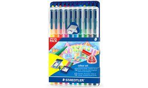 STAEDTLER kleurpotlood ergosoft & Fasermaler triplus Bonus Pack