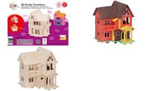 mara door Marabu 3D             Puzzle'Traumhaus ', 33 houten