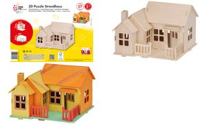 mara door Marabu 3D             Puzzle\'Strandhaus \', 27 houten
