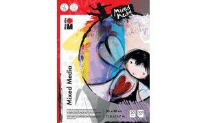Marabu Malblock'Mixed Media ',  300 x 400 mm, 300 g / m²