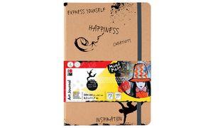 "Marabu notebook'Art Dagboek "",  DIN A5, 180 g / m², 72 vel"