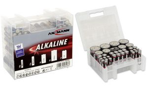 ANSMANN Alkaline'RED 'accubak,  35er Box