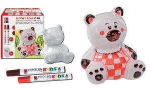 Marabu Spardosen set\'MONEY BEAR kids \'