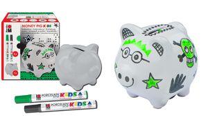 Marabu Spardosen set'MONEY PIG  kids '