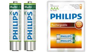 PHILIPS NiMH-batterij Micro     (AAA) 1000 mAh voor Pocket Memo