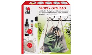 Marabu Creative Fashion         Spray-Set'Sporty Gym Bag '
